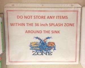 Splash Zone!