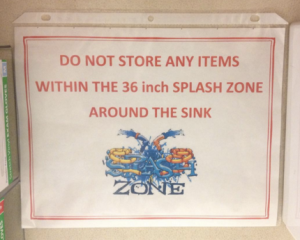 Splash Zone!
